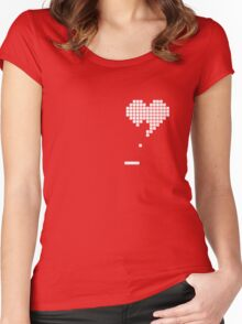 Pong Heart Women's Fitted Scoop T-Shirt
