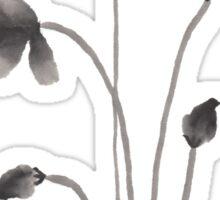Ink flower Sticker