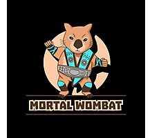 Mortal Wombat Photographic Print