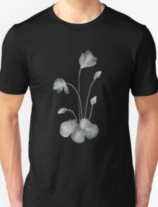 Ink flower negative T-Shirt