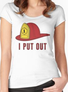 I Put Out Women's Fitted Scoop T-Shirt