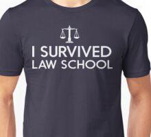 I Survived Law School Unisex T-Shirt