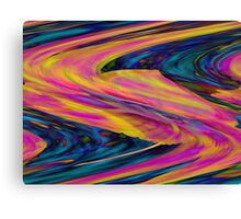 Pastel Storm Artwork Canvas Print