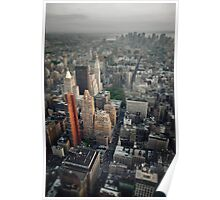The Giant Over The Big Apple Poster