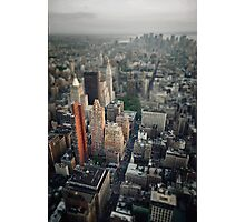 The Giant Over The Big Apple Photographic Print