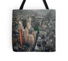 The Giant Over The Big Apple Tote Bag