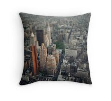 The Giant Over The Big Apple Throw Pillow
