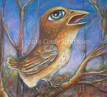 Some sort of Sparrow by Cindy Schnackel