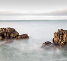 Face in the Rock by Nigel R Bell