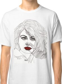 Sophia with Red Lips Classic T-Shirt