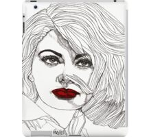 Sophia with Red Lips iPad Case/Skin