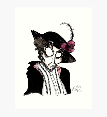 DeLa Maggie Smith Art Print