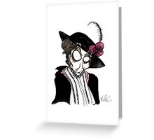 DeLa Maggie Smith Greeting Card