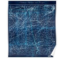 Civil War Maps 1202 Northern Alabama and Georgia 02 Inverted Poster