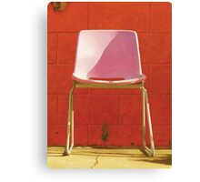 The Chair by the Pool Canvas Print