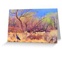 Crane Territory Greeting Card