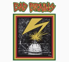 BAD BRAINS SELF TITLED ALBUM COVER by sinisterstanzas