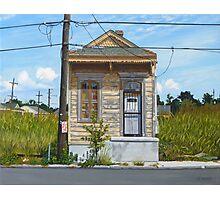 Shotgun House Photographic Print