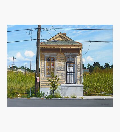 Shotgun House Photographic Print