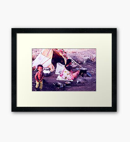 Bangalore People1 Framed Print