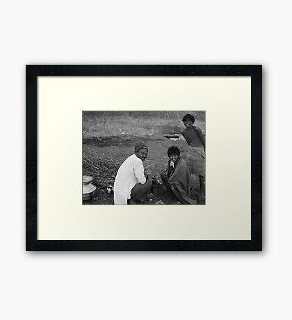 Bangalore People2 Framed Print