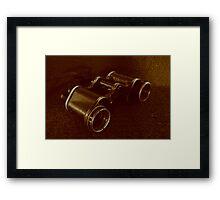 WWII Binoculars  Framed Print