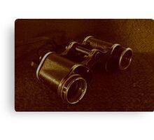 WWII Binoculars  Canvas Print