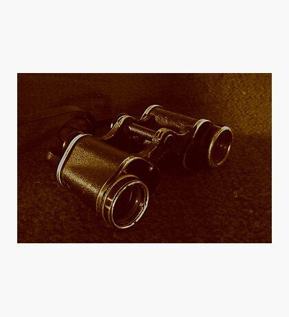 WWII Binoculars  Photographic Print