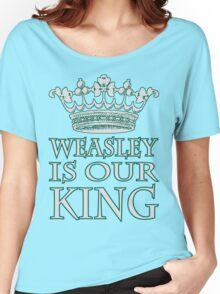 Weasley Is Our King (Slytherine) Women's Relaxed Fit T-Shirt