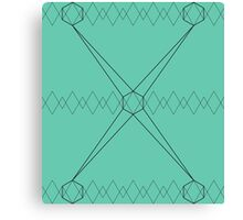 Geometric ornament Canvas Print