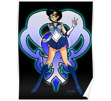 Sailor Mercury Sailor Scout Poster