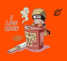 Naruto and Ramen by ArtemideDelia