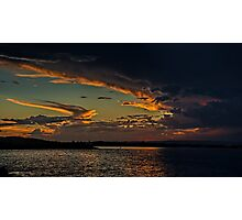 Sky of Anger, Sky of Beauty Photographic Print