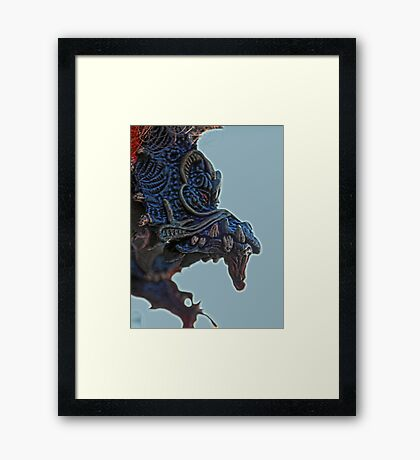 ©AS Chasing Dragons IIIATS Framed Print