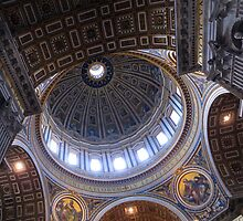 Saint Peters, Rome by Peter Mitchell