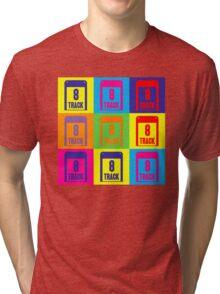 8 Track Pop Art T-Shirt Tri-blend T-Shirt