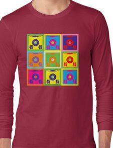 45 Record Pop Art Long Sleeve T-Shirt