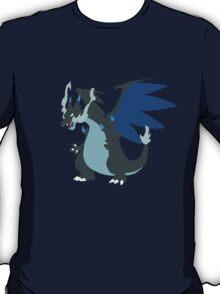 Mega-Charizard X Minimalist T-Shirt