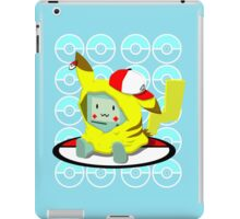 Choose me, Pika-mo!!  iPad Case/Skin