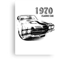 Chevrolet Chevelle SS 1970 Canvas Print