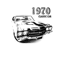 Chevrolet Chevelle SS 1970 Photographic Print