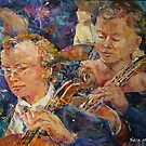 Cellists In Orchestra - Music Art Gallery by Ballet Dance-Artist