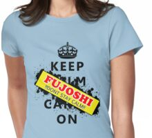 Keep calm Fujoshi! Womens Fitted T-Shirt