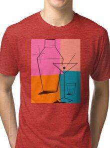 Pop Art Martini Tri-blend T-Shirt