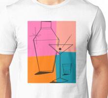 Pop Art Martini Unisex T-Shirt
