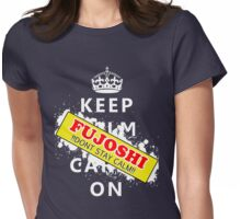 Fujoshi dont stay calm Womens Fitted T-Shirt