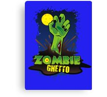 ZOMBIE GHETTO OFFICIAL LOGO DESIGN Canvas Print