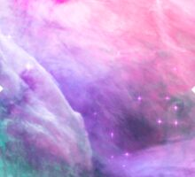 Orion Nebula [Pink Clouds] | Galaxy Mathematix Sticker