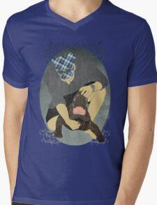 Alligator Wrestling Mens V-Neck T-Shirt