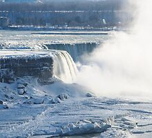 Niagara Falls In Winter by yobab